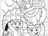 Happy New Year Coloring Pages to Print Chinese New Year Dragon Coloring Page