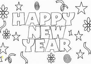 Happy New Year Coloring Pages to Print New Year Drawing at Getdrawings