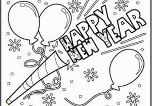 Happy New Years Coloring Pages Happy New Year to Download Coloring Pages Printable