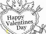 Happy Valentines Day Coloring Pages Cute Coloing Page with Images