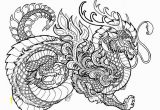 Hard Coloring Pages Of Dragons Dragon Coloring Pages for Adults Printable