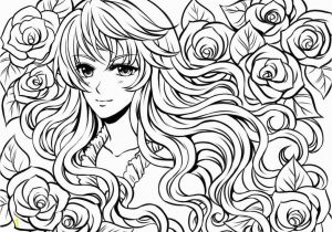 Hard Girl Coloring Pages Anime Line