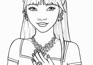 Hard Girl Coloring Pages Coloring Pages Girls