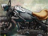 Harley Davidson Motorcycle Wall Murals Canvas Wall Art Painting Design for Harley Davidson Bikers