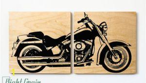 Harley Davidson Motorcycle Wall Murals Harley Davidson softail Motorcycle Wall Art Harley Print