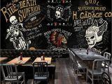 Harley Davidson Wall Mural 3d Skull Rider Wallpaper Mural Skull Wall Art
