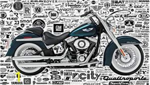 Harley Davidson Wall Mural Shop 999store Indian Wallpaper Harley Davidson Bike Textured