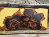 Harley Davidson Wall Mural Shop Carved Wood Harley Davidson Chopper Motorcycle Wall Hanging E Of A Kind Hand Carved by 15 Year Old In Wood Shop Class