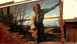 Harriet Tubman Wall Mural Harriet Tubman Mural — and Photo Of A Girl Reaching Out to
