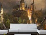 Harry Potter Castle Wall Mural Wizards Castle Wall Mural Sticker Wallpaper by Pulaton