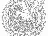 Harry Potter Mandala Coloring Pages A Harry Potter Coloring Book Crawling with Fantastic