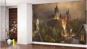 Harry Potter Wall Mural Wallpaper Hogwarts Tapete Etsy De