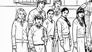 Harry Ron and Hermione Coloring Pages Harry Potter Colouring Google Search
