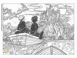 Harry Ron and Hermione Coloring Pages Harry Potter In Poudlard Movie Harry Potter Printables for Kids