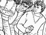Harry Ron and Hermione Coloring Pages Hermione Granger Coloring Page
