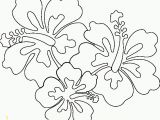 Hawaiian Flower Coloring Pages Hawaii Coloring Pages Hawaiian Flower Coloring Page Beautiful