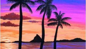 Hawaiian Sunset Wall Mural Hawaiian Sunset My Style