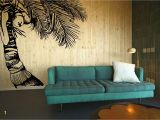 Hawaiian Wall Murals Coco Crazy Tall Tropical Hawaiian Coconut Tree with Fawns