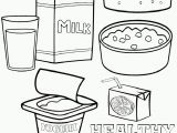 Healthy and Unhealthy Food Coloring Pages Healthy and Unhealthy Food Coloring Pages Printable
