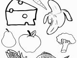 Healthy and Unhealthy Food Coloring Pages Healthy Food Coloring Pages