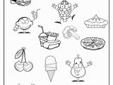 Healthy and Unhealthy Food Coloring Pages Healthy Foods for Kids Worksheets Good Galleries