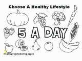 Healthy Foods Coloring Pages Healthy Food Coloring Pages Beautiful Healthy Food Drawing Recent