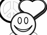 Heart and Peace Sign Coloring Pages Coloring Pages Peace Signs and Hearts Clip Art Peace