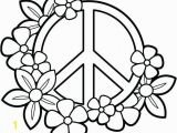 Heart and Peace Sign Coloring Pages Heart Peace Sign Coloring Pages at Getcolorings