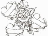 Heart Coloring Pages for Girls Coloring Pages Roses and Hearts New Vases Flower Vase Coloring