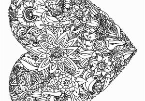 Heart Mandala Coloring Pages Hearts Coloring Book A Stress Management Coloring Book for