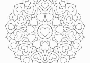 Heart Mandala Coloring Pages Valentine S Day Coloring Pages Ebook Heart Mandala