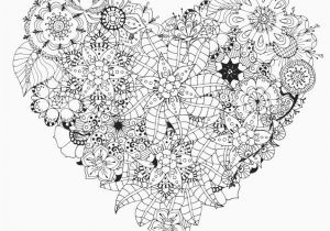 Heart Mandala Coloring Pages Wonderful Adult Coloring Books Picolour