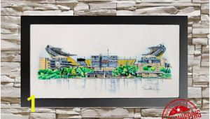 Heinz Field Wall Mural Steelers Wall Art