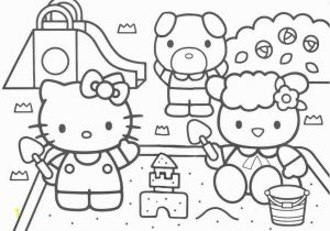 Hello Kitty and Friends Coloring Pages Free Big Hello Kitty Download Free Clip Art