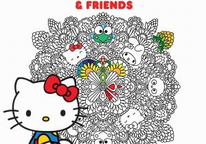 Hello Kitty and Friends Coloring Pages Hello Kitty & Friends Coloring Book Volume 1 Amazon