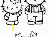 Hello Kitty and Keroppi Coloring Pages 8 Best Hello Kitty and Dear Daniel Images