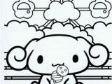 Hello Kitty and Keroppi Coloring Pages Printable Kawaii Little Dog Coloring Picture Free