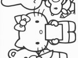 Hello Kitty and Mimmy Coloring Pages Coloring Page Hello Kitty Hello Kitty