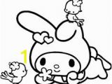 Hello Kitty and My Melody Coloring Pages 11 Best My Melody Images