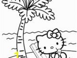 Hello Kitty at the Beach Coloring Pages 51 Best Hello Kitty Coloring Printables Images