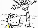 Hello Kitty at the Beach Coloring Pages 79 Best Pages to Color with Daughter Images
