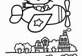 Hello Kitty at the Beach Coloring Pages Hello Kitty On Airplain – Coloring Pages for Kids with