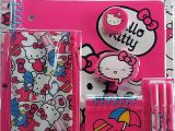 Hello Kitty Back to School Coloring Pages Hello Kitty Back to School Gift Pack 11 Piece Value Pack