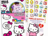 Hello Kitty Back to School Coloring Pages Hello Kitty Stickers Party Supplies Pack toddler Stickers for toddler Backpack with Bonus Hello Kitty Reward Stickers Coloring Pages and