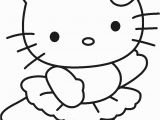 Hello Kitty Ballerina Coloring Pages Free Printable Hello Kitty Coloring Pages for Kids