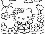Hello Kitty Basketball Coloring Pages Hello Kitty Coloring Page 20