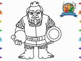 Hello Kitty Basketball Coloring Pages How to Draw Royal Giant Clash Royale Coloring Pages for Kids