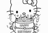 Hello Kitty Birthday Cake Coloring Pages Free Hello Kitty Coloring Pages Happy Birthday Download