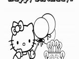 Hello Kitty Birthday Coloring Pages Free to Print Free Hello Kitty Coloring Pages Happy Birthday Download