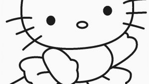 Hello Kitty Black and White Coloring Pages Coloring Flowers Hello Kitty In 2020
